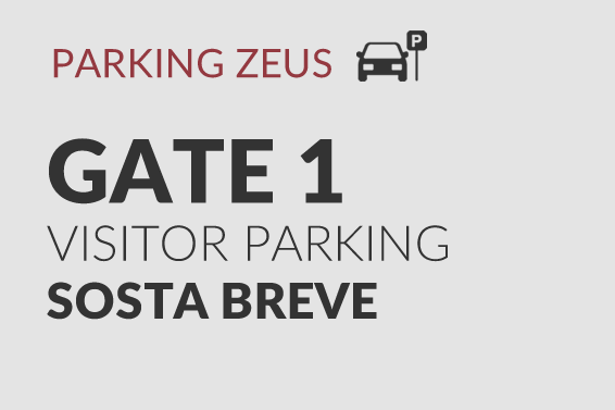 GATE 1 - VISITOR PARKING
