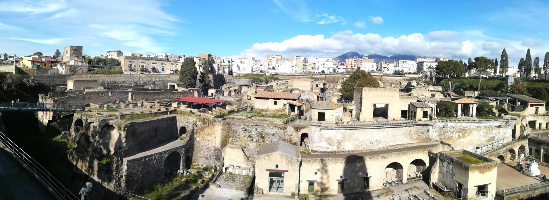Tour Ercolano - Vesuvio da Pompei