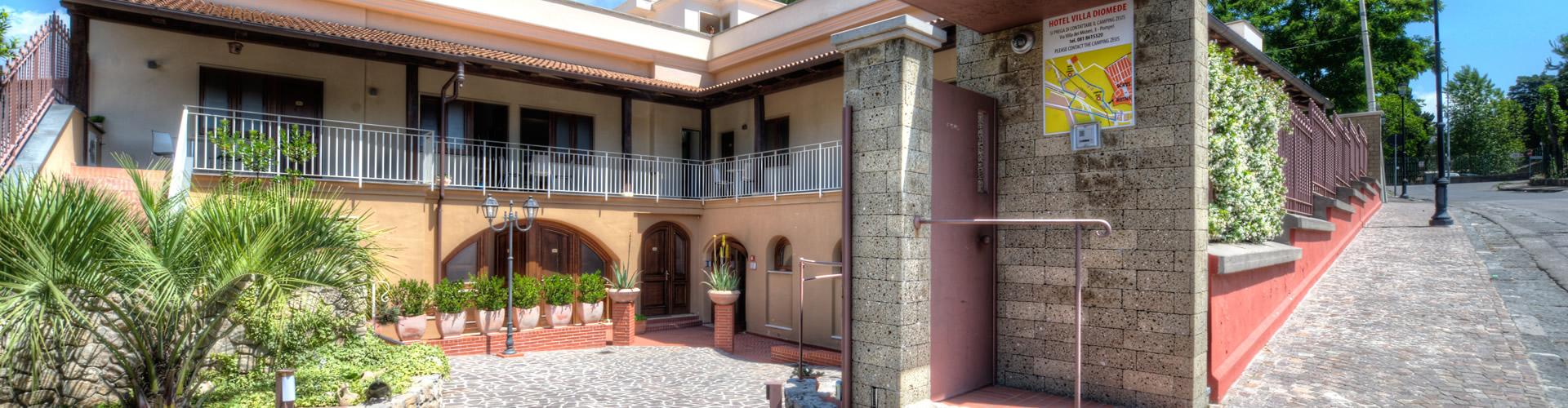 Hotel Villa Diomede